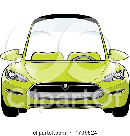 Green Car by Lal Perera
