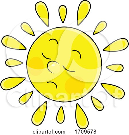 Sun Mascot by Alex Bannykh