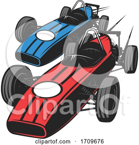 Race Cars by Vector Tradition SM
