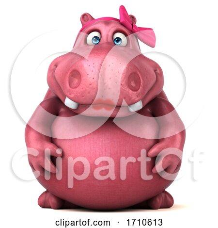 Free Hippo Clipart 2 Image - Cartoon Hippopotamus Clipart Free, HD Png  Download - kindpng