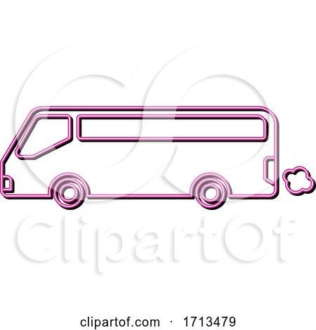Tourist bus by patrimonio
