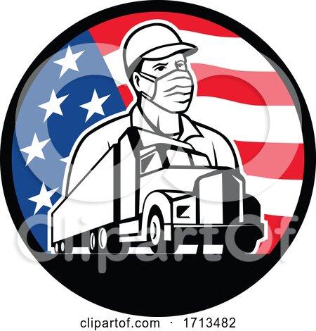 American Truck Driver by patrimonio