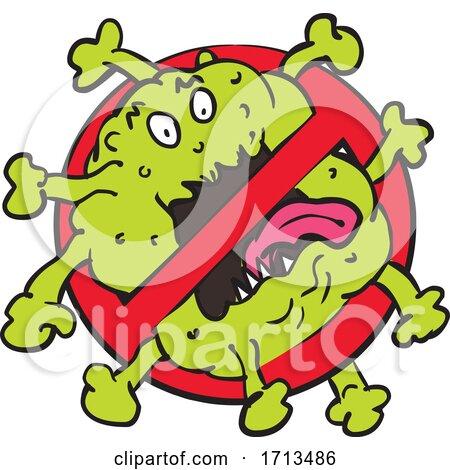 Stop Coronavirus by patrimonio