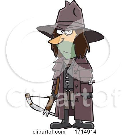 Cartoon Vampire Hunter by toonaday