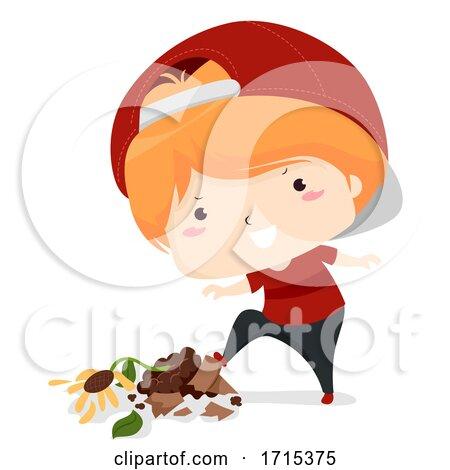 Kid Boy Adjective Bad Illustration by BNP Design Studio