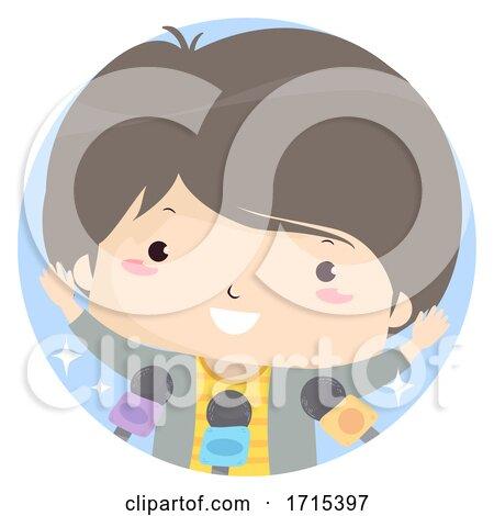 Kid Boy Condition Adjective Famous Illustration by BNP Design Studio