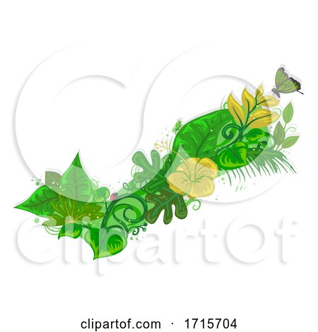 Check Nature Leaves Insects Illustration by BNP Design Studio