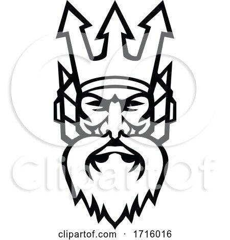 Mascot of Poseidon by patrimonio
