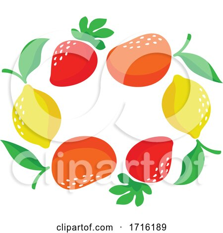 Strawberries Mangoes and Lemons by elena