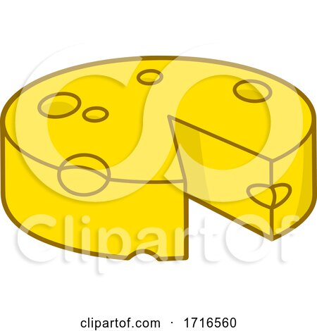 Cheese Wedge by Any Vector