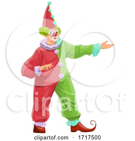 Clown Presenting by Vector Tradition SM