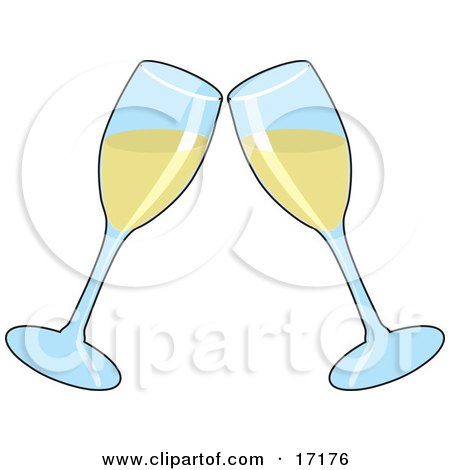 http://images.clipartof.com/small/17176-Two-Wine-Glasses-Toasting-With-White-Wine-At-A-Wedding-Anniversary-Or-Other-Event-Clipart-Illustration.jpg