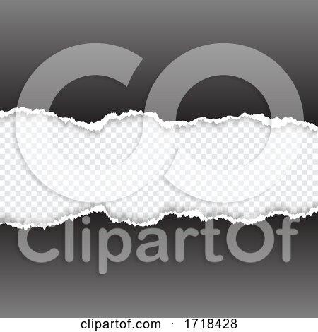 Torn Paper Background by KJ Pargeter