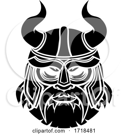 Viking Mascot by AtStockIllustration