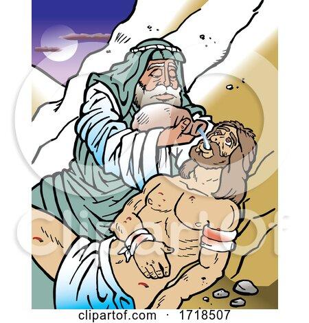 The Good Samaritan by Johnny Sajem