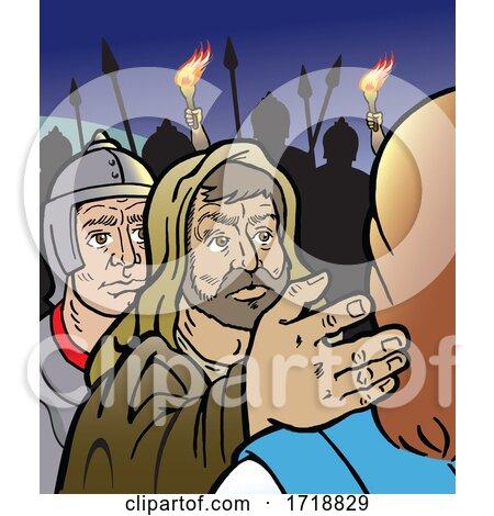 Judas Iscariot by Johnny Sajem