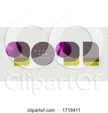 Happy New Year 2021 Greeting by elena #1719411