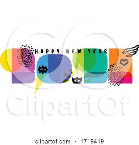 Happy New Year 2021 Greeting by elena #1719419