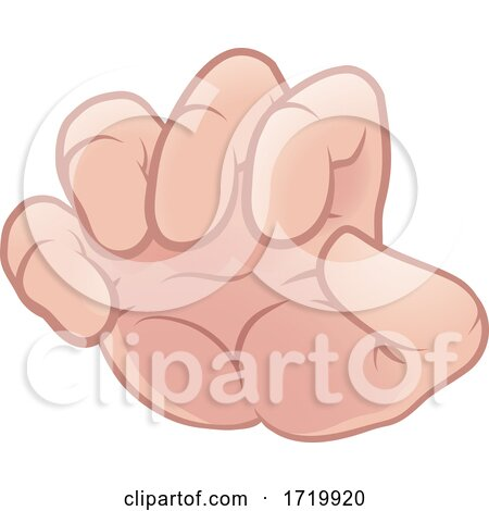Monster Claw Cartoon Hand Posters, Art Prints