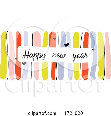Happy New Year Greeting by elena