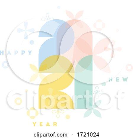 New Year 2021 Design by elena