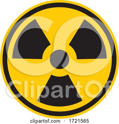 Radioactive Warning Sign by Any Vector