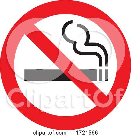 No Smoking Sign by Any Vector