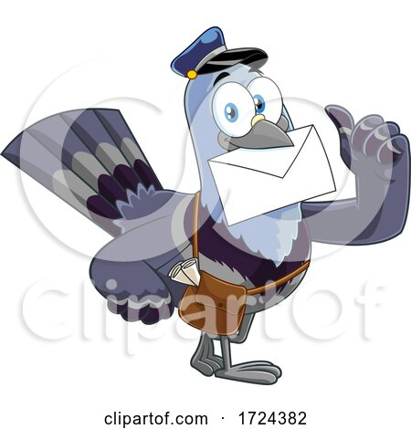 Mail Pigeon by Hit Toon
