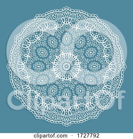 Decorative Lace Doily Design Posters, Art Prints