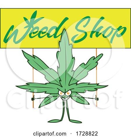 Marijuana Shop by Domenico Condello