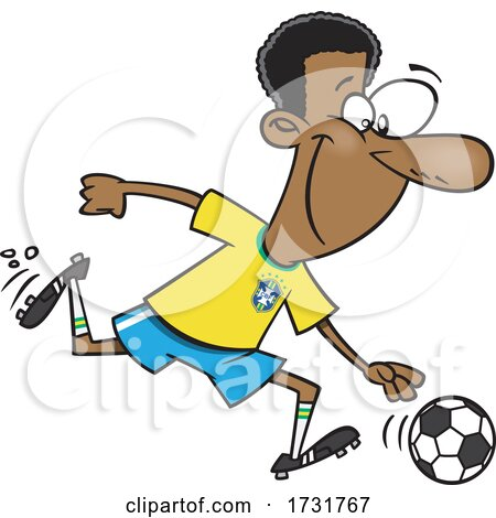 Cartoon Soccer Legend by toonaday