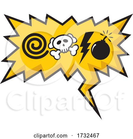Comic Sound Effects Design by Any Vector