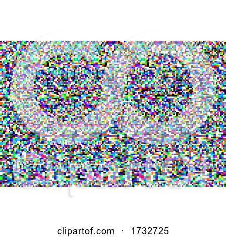 TV Screen Static Background by Vector Tradition SM