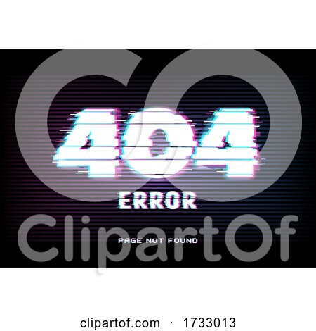 Page Not Found Error by Vector Tradition SM