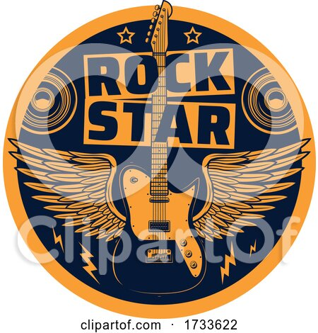 Rock Music Logo by Vector Tradition SM