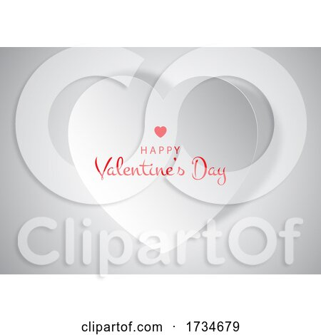 Happy Valentines Day Greeting by KJ Pargeter