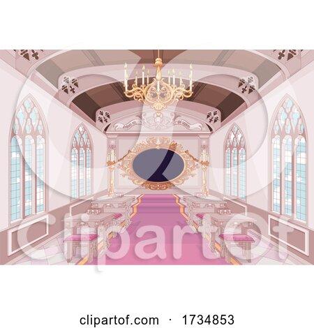 Ornate Palace Class Room by Pushkin