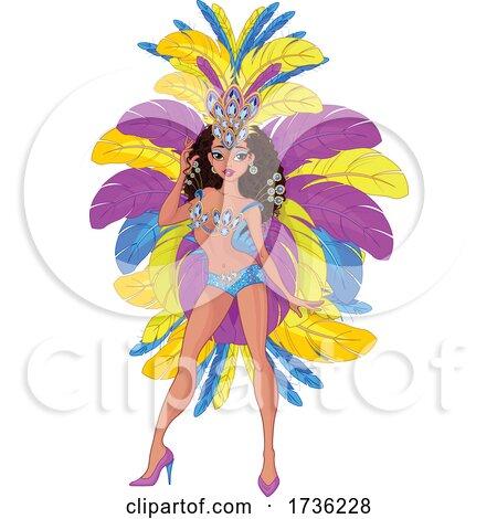 Samba Dancer Posters, Art Prints