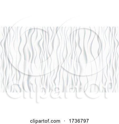 Seamless Gray Wave Pattern by dero