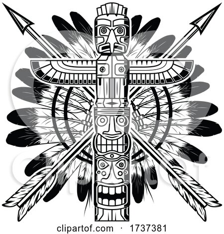 Native American Logo by Vector Tradition SM