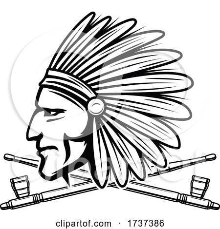 Native American Logo by Vector Tradition SM