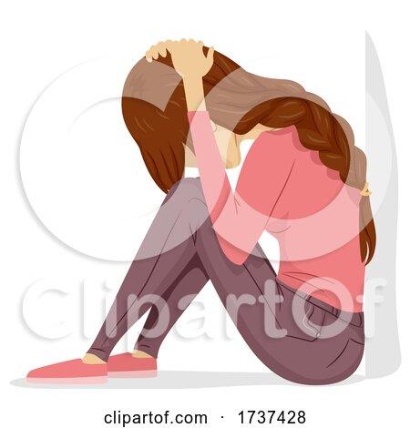 Teen Girl Tornado Drill Sit Cover Illustration by BNP Design Studio