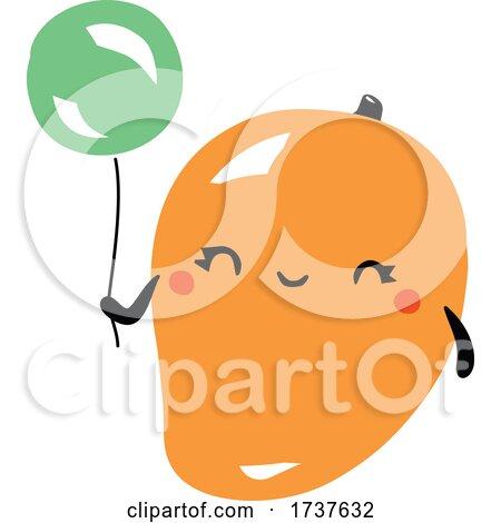 Mango and Balloon by elena