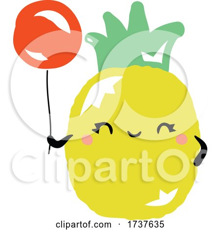 Pineapple and Balloon by elena