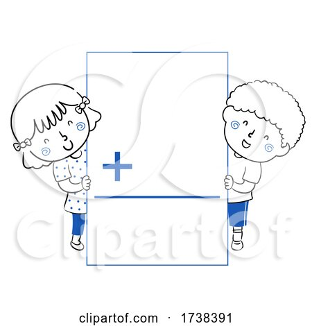 Kids Math Flash Card Addition Illustration by BNP Design Studio