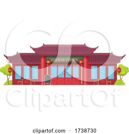 Chinese Restaurant by Vector Tradition SM