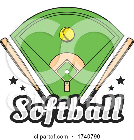 Softball Design by Vector Tradition SM