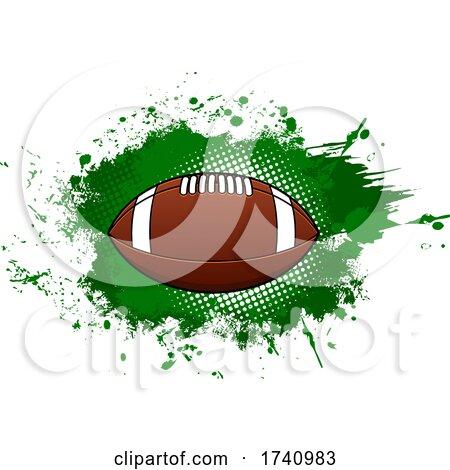 Football and Grunge by Vector Tradition SM