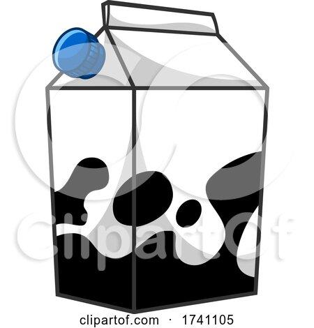 Cartoon Milk Carton by Hit Toon
