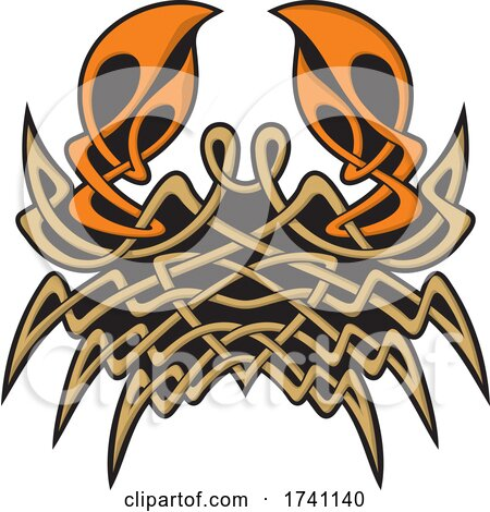 Celtic Crab by Any Vector